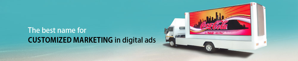 LED advertising